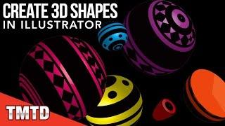 Illustrator Tutorials: Create 3D Shapes in Illustrator