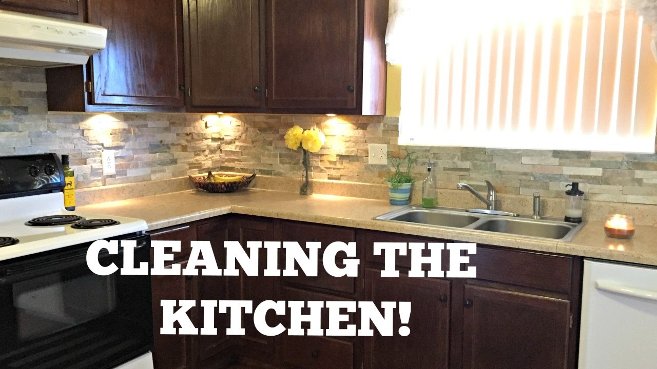 How to deep clean your kitchen kitchen cleaning tutorial for How to clean your kitchen