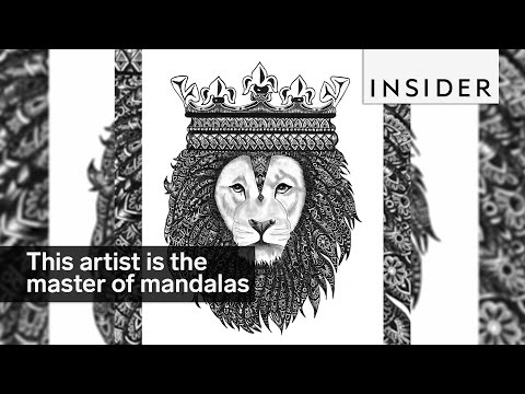 This Artist Is The Master Of Mandalas
