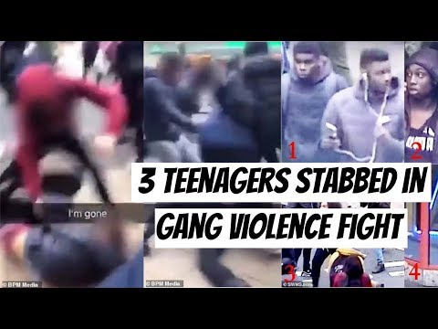 3 TEENAGERS STABBED IN MASSIVE GANG BRAWL IN BIRMINGHAM *WITH FOOTAGE*   Chat & Chill