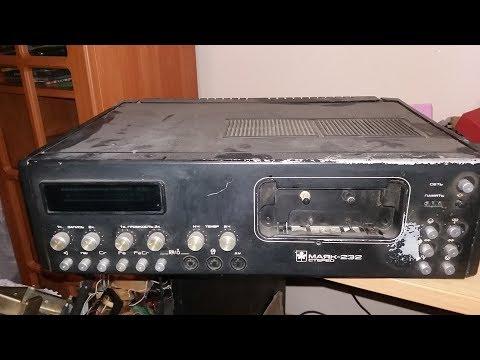 Розбір радянського магнітофона Маяк-233