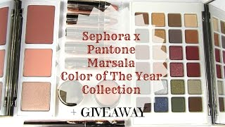 Sephora x Pantone Marsala Color Of The Year Collection + GIVEAWAY: Live Swatches & Review Thumbnail