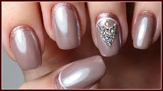 Simple AUTUMN NAIL design with gel varnish / CORRECTION lamination / Manicure Autumn 2017 with WASH