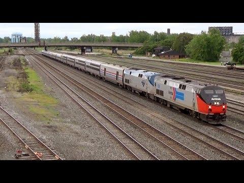 Railfanning Buffalo NY in Early-Mid June 2015