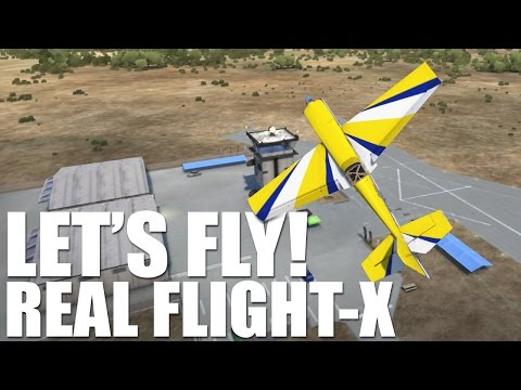 Let's Play RF-X | Flight Simulator