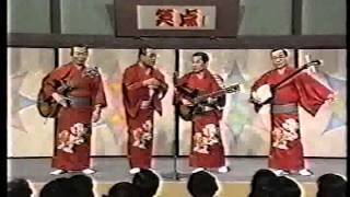 日本が誇る浪曲グループ・玉川カルテット、1994年のテレビ出演より。