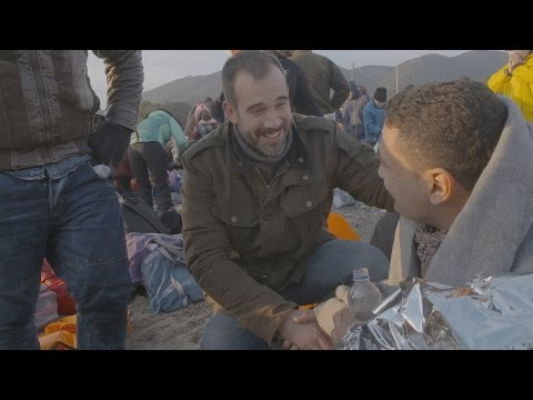 Dr Xand helps treat to migrants after a dangerous sea crossing - Migrants and Medics - BBC One