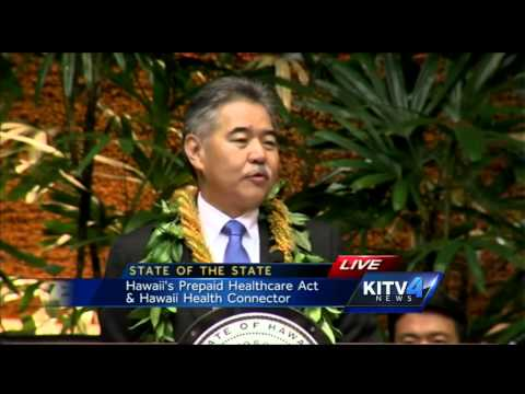 WATCH: 2015 State of the State Address by Gov. Ige