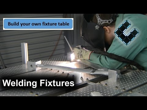 Fixture Table, Making Welding Fixtures