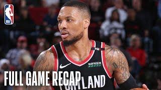 Pistons vs Trail Blazers | Big Plays Late in Portland | March 23, 2019