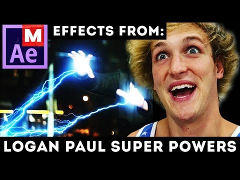 After Effects Tutorial: Logan Paul - IF I HAD SUPER POWERS - Ant Man Superman Star Wars Matrix - VFX