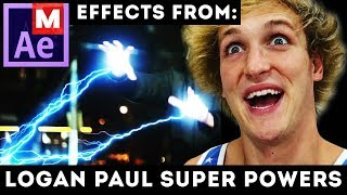 after effects tutorial logan paul if i had super powers ant man superman star wars matrix vfx