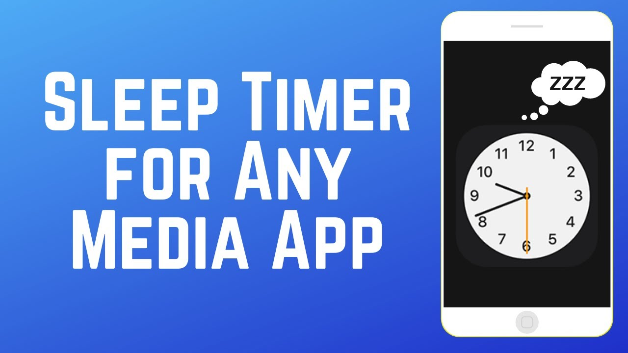 How to Set Sleep Timer for Any Media App on iPhone