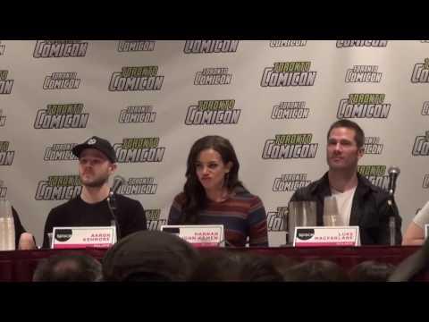 Killjoys cast at Toronto Comicon - March 19, 2016