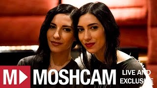 The Veronicas on Daniel Johns (Silverchair), hometown hangouts & chanting monks | Moshcam Interview