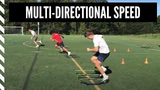Lacrosse Speed & Agility: Multi-Directional Speed Training