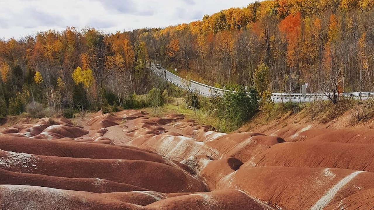 Cheltenham Badlands is the perfect place to explore this fall ...