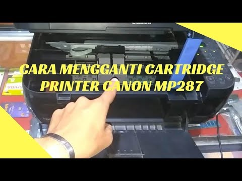 TUTORIAL CARA REFILL ATAU ISI ULANG CATRIDGE 810 HITAM CANON MP287.