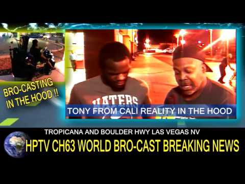 HPTV CH63 & TONY FROM CALI IN THE LAS VEGAS HOOD !!