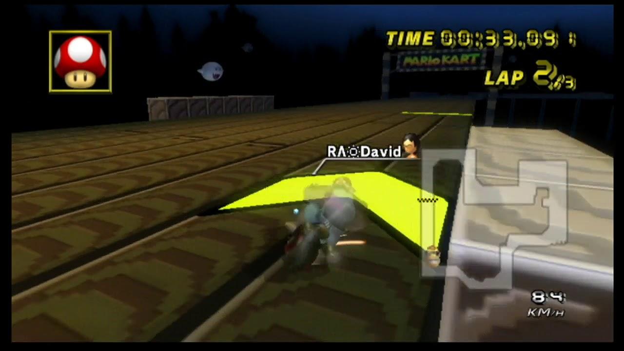 David S Time Trials Mario Kart Boards