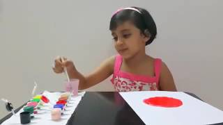 5 Year Old Teaching: How to Draw and Paint a Lady Bug