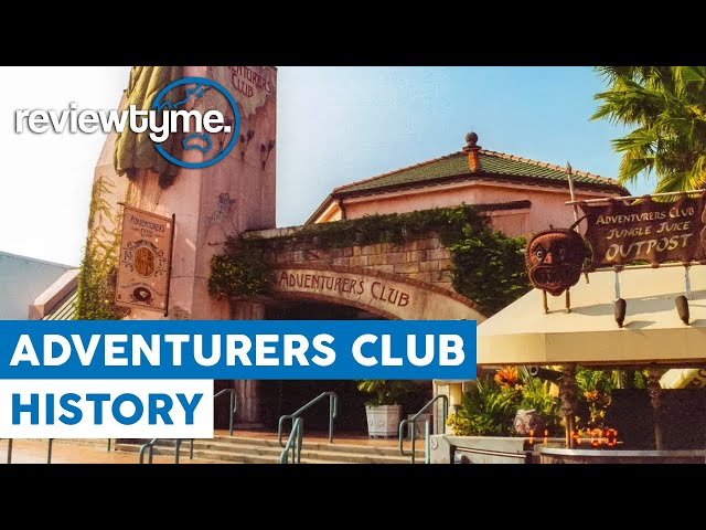 Performers, Puppets, Masks and Alchohol - Disney's Adventurers Club