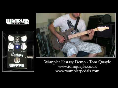 Wampler Ecstasy - Mode & Gain Demo - www.tomquayle.co.uk