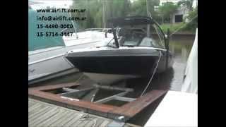 Elevador de lanchas /embarcaciones / botes AIRLIFT / Malibu