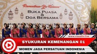 Rayakan Kemenangan Jokowi-Maruf dengan Syukuran dan Bukber Puasa