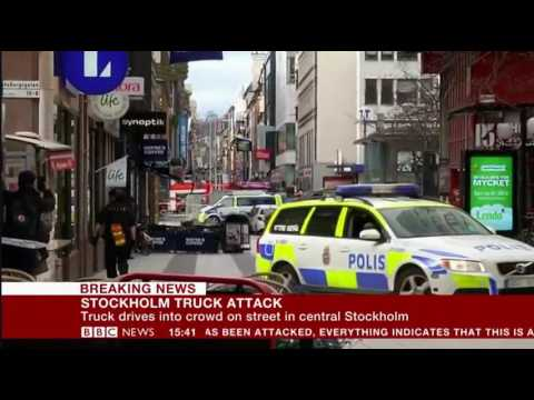 Stockholm Sweden Truck attack Eyewitness Report horrific scenes