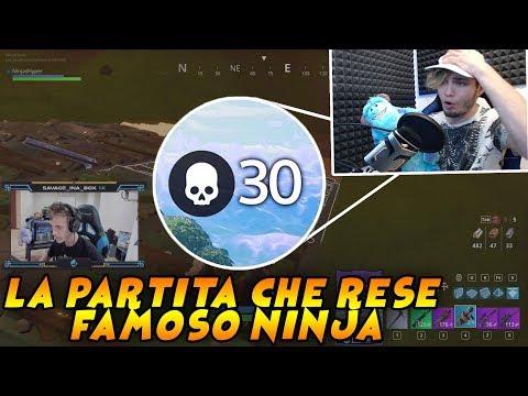 REAZIONE ALLA PARTITA CHE RESE FAMOSO NINJA!! 30 BOMBE NELLA SEASON 2!! Guardate Qua!