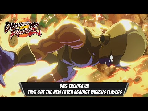 DNG|Tachikawa Tries out the patch with his team against Various Players[DBFZ]