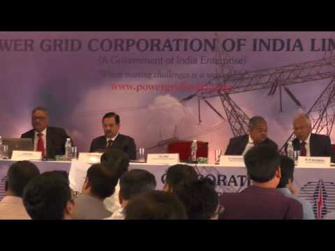 Power Grid Corporation of India Limited AnalystMeet On 28052016 At 4 00PM