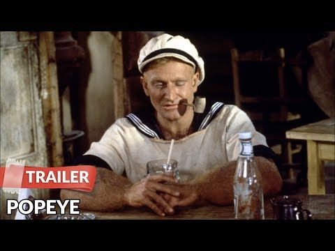 Popeye 1980 Trailer | Robin Williams | Shelley Duvall