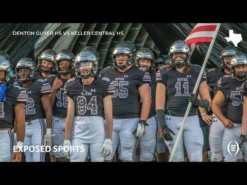 Denton Guyer High School Vs Keller Central High School Football Highlights 2019 Texas Football Youtube