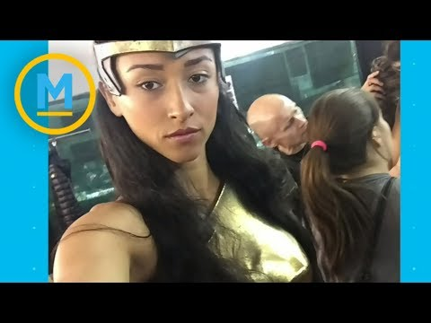 Gal Gadot's stand-in is a wonder woman in her own right | Your Morning