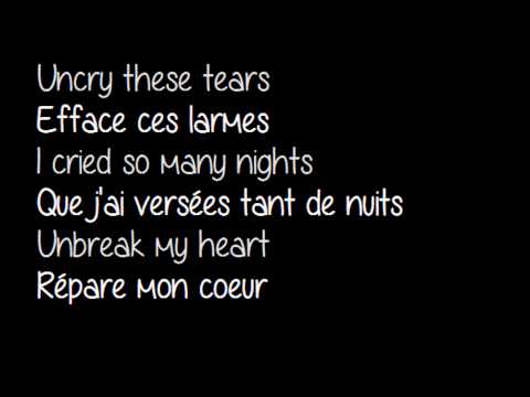 Toni- Un break my heart - Traduction + parole.