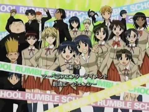 XS// School Rumble NI Gakki - Techno OP FULL (Eri & Yakumo Dance)