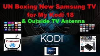 Un Boxing a NEW Samsung Smart TV 32 inch 4 series M4500 Smart Hub This is Episode 932