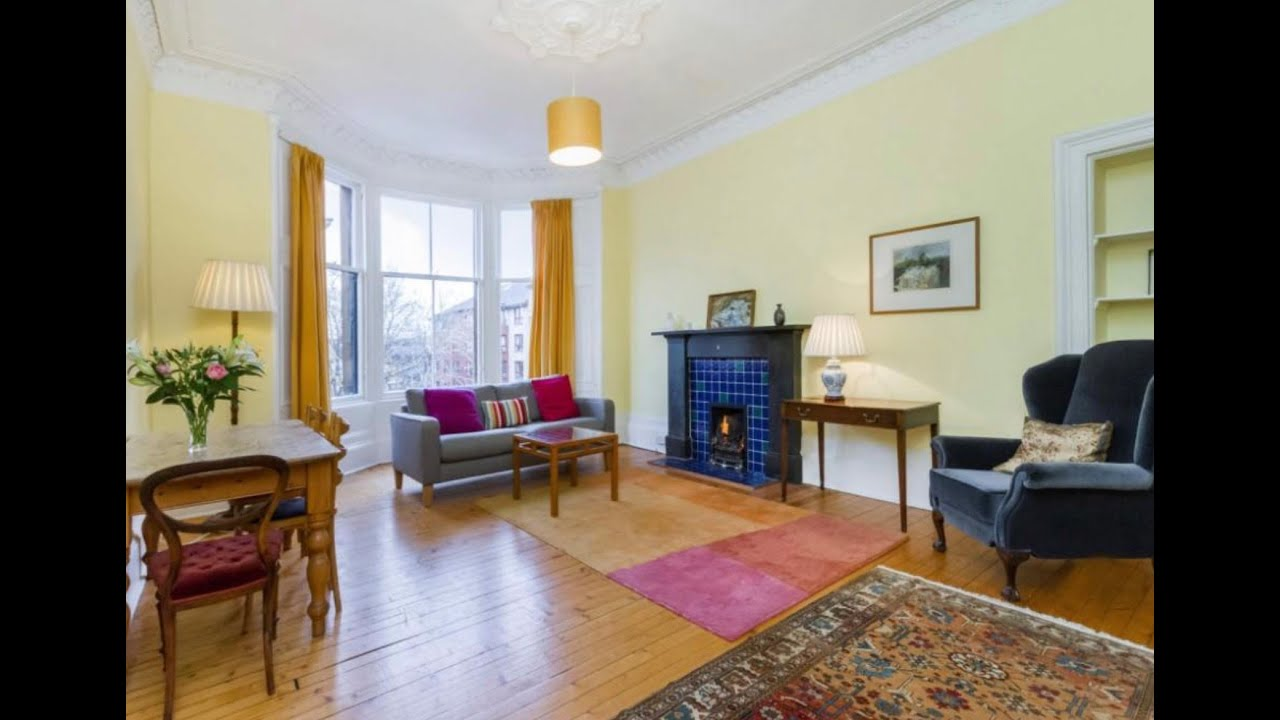Video tour of 3 bedroom flat to rent in Clouston Street ...
