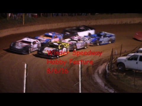 Winder Barrow Speedway Hobby Feature Race 8/6/16