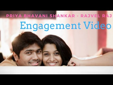 Priya Bhavani Shankar - Rajvel Raj Marriage & Engagement Videos - Exclusive