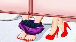 6 Dinge die Frauen tun, wenn sie alleine sind! 😮