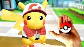 POKEBALL in Viata REALA ! Pokemon Let's Go