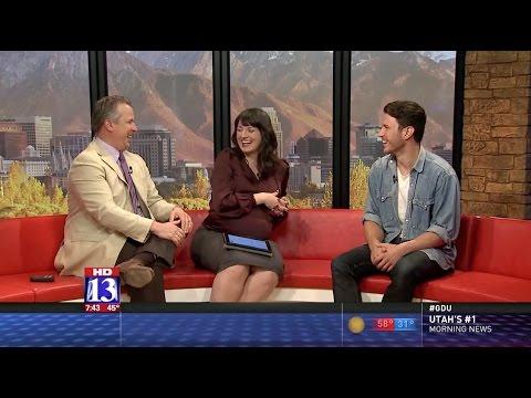 FOX 13's Good Day Utah Weekend Interviews SPIRIT OF THE GAME Star Aaron Jakubenko