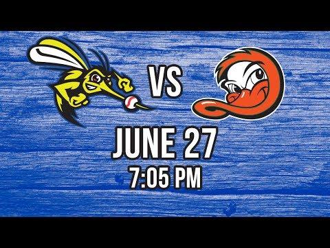 6/27/17-Sugar Land Skeeters vs. Long Island Ducks
