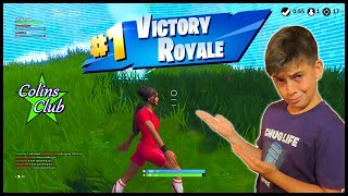 Fortnite 17 Elim Catch Game Mode Win (No Mic Audio) :(