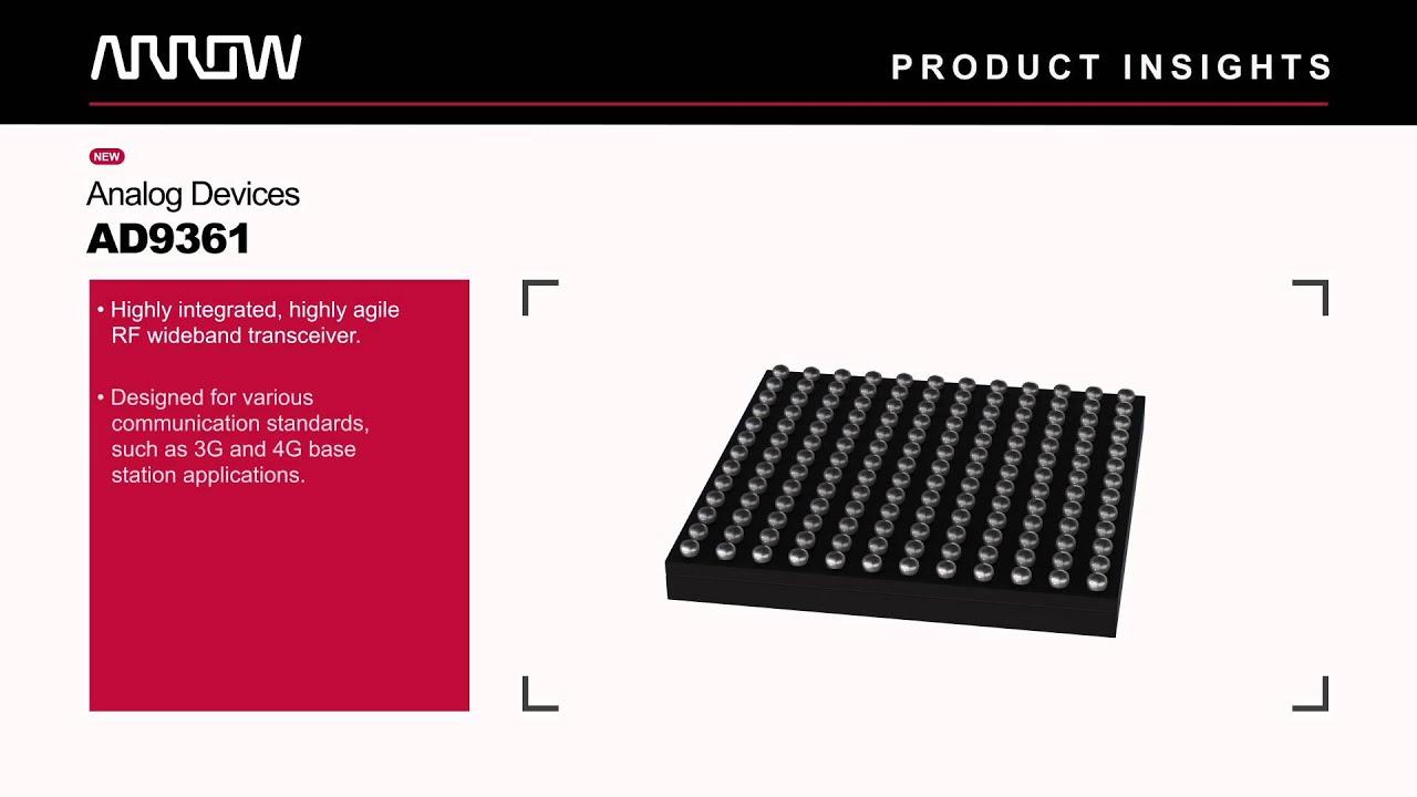 Product Insights - ARRadio Eval Board, AD9361, and ADP2164 | EEWeb