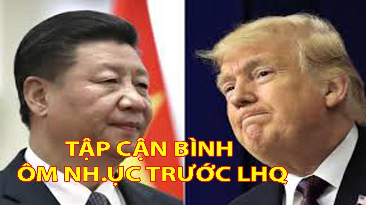 Đáng Đời TrungQuốc, TT Trump CH.Ử.I THẲNG MẶT TậpCậnBình Tại LHQ.Tiệm Nail Toàn California MỞCỬA LẠI