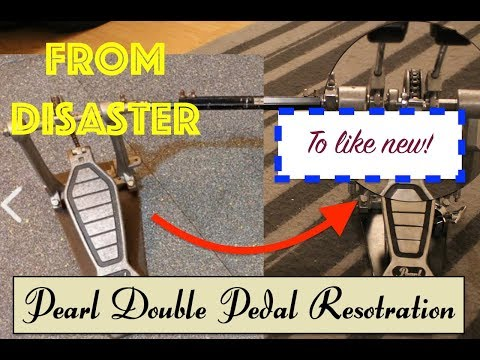Pearl Double Bass Drum Pedal Restoration - 115 Subscriber Special!